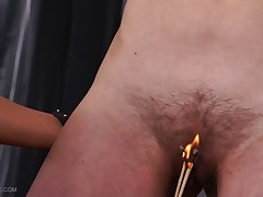 Queensnake and Nazryana both have hairy pussy and they are ordered to help..